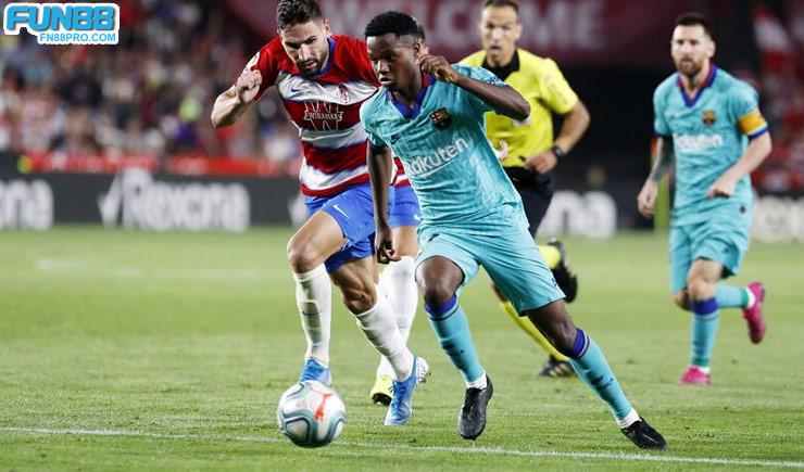 คะแนนฟุตบอล Barcelona vs Granada