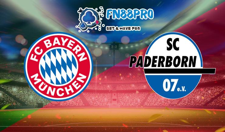 การวิเคราะห์การแข่งขันฟุตบอล บาเยิร์นมิวนิค vs พาเดอร์บอร์น 22-02-2020