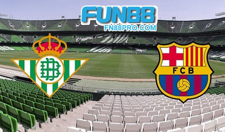 การวิเคราะห์การแข่งขันฟุตบอล เบติสกับบาร์เซโลนาจริง 10-02-2020