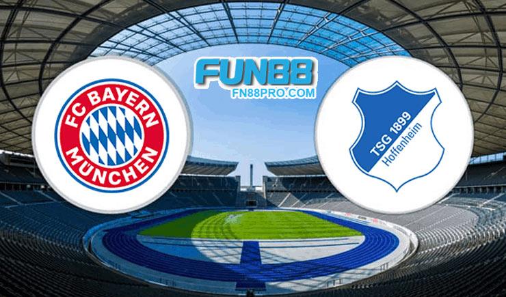 คะแนนฟุตบอล bayern munich vs hoffenheim