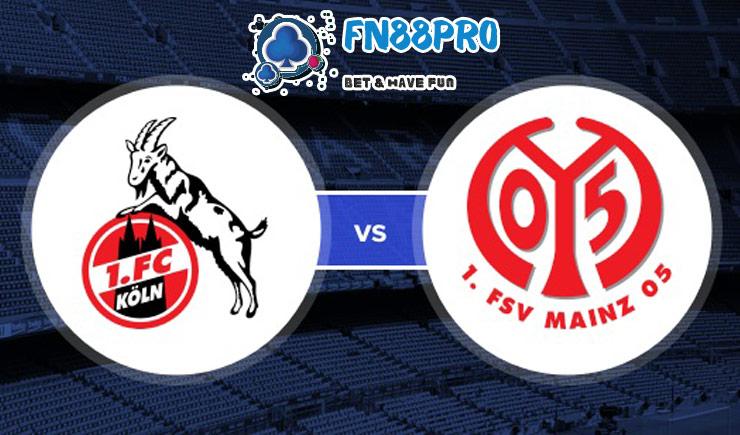 วิเคราะห์ ฟุตบอล Koln กับ FSV Mainz 05, เวลา 20:30 น. เมื่อ 17/05/2020