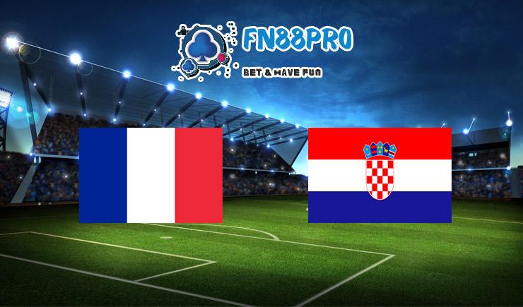วิเคราะห์ การแข่งขัน ฝรั่งเศส vs โครเอเชีย ที่ Fun88, 01:45 – 09/09