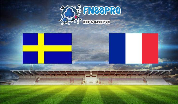 วิเคราะห์ การแข่งขัน สวีเดน vs ฝรั่งเศส ที่ Fun88, 01:45 – 06/09