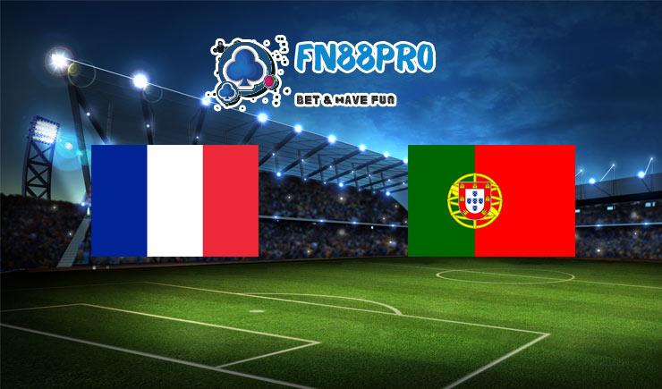 ทาย ผล บอล วัน นี้ France vs Portugal, 01:45 – 12/10/2020