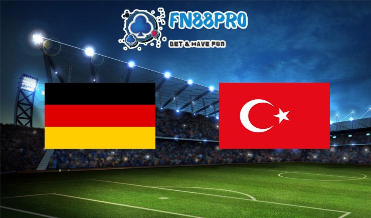 ทาย ผล บอล วัน นี้ Germany vs Turkey, 01:45 – 08/10/2020