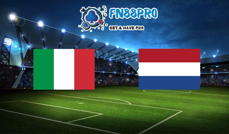 ทาย ผล บอล วัน นี้ Italy vs Netherlands, 01:45 – 15/10/2020