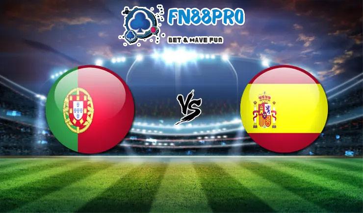 ทาย ผล บอล วัน นี้ Portugal vs Spain, 01:45 – 08/10/2020