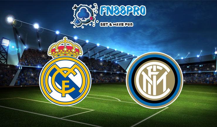 ทาย ผล บอล วัน นี้ Real Madrid vs Inter Milan, 03:00 – 04/11/2020